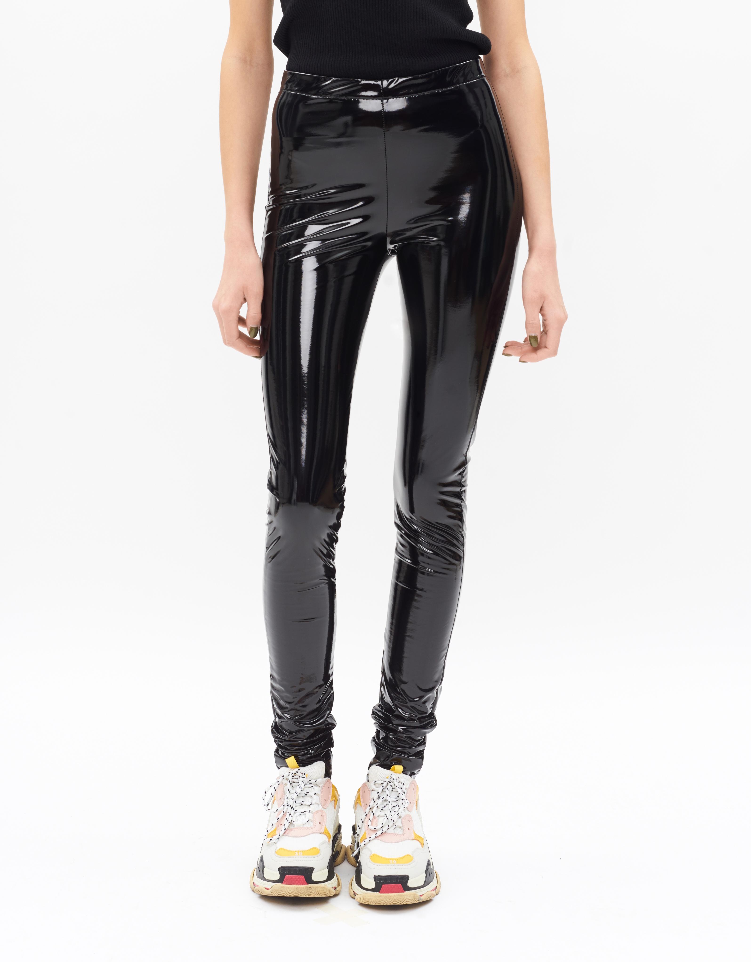 Latex leggings trend